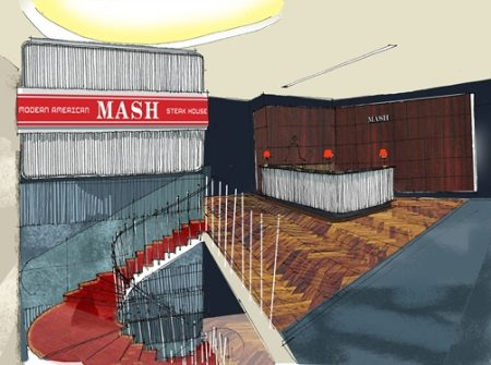 MASH Restaurants- Modern American Steakhouse- London