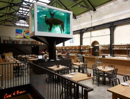 Tramshed - Shoreditch, London- Damien Hirst  2012