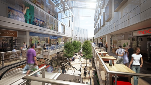 Liverpool- Lewis Redevelopment- Merepark's Central Village scheme