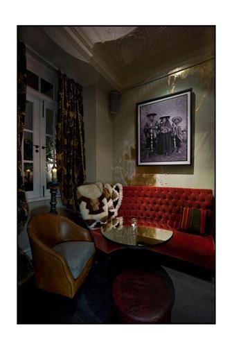 Coya members bar corner- Mayfair- London