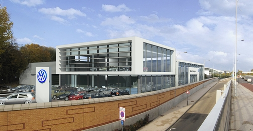 Coulsdon Volkswagen Showroom- Surrey