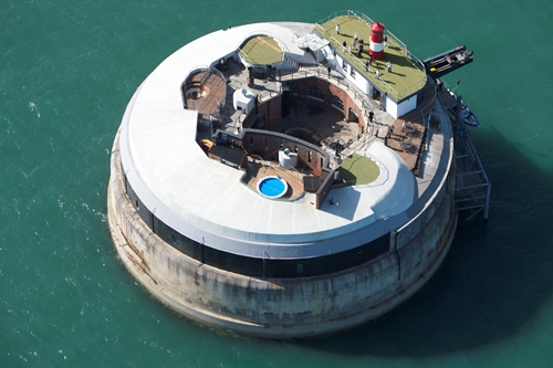 Spitbank Fort- the Portsmouth coast