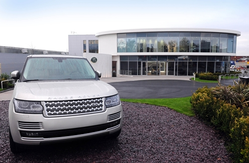 Land Rover Visitor Centre- Solihull
