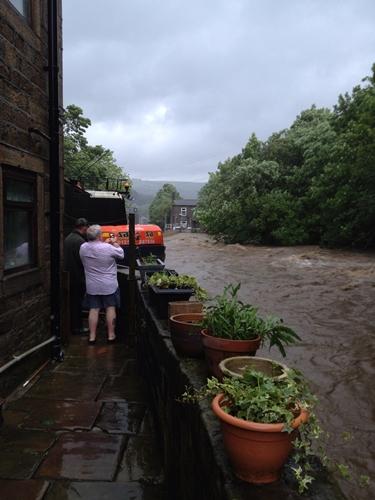 Todmorden flood defence investment