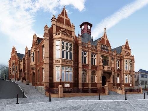 Restoring merthyr tydfil s old town hall premier for In home design merthyr