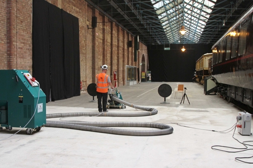 National Railway Museum Station Hall- York