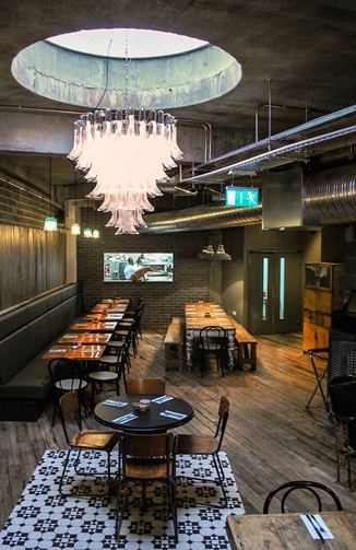 Beard to Tail Restaurant- London- Great Eastern Street end of Curtain Road