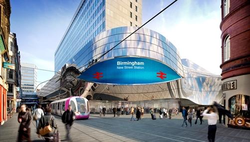 Birmingham Gateway- New Street Station