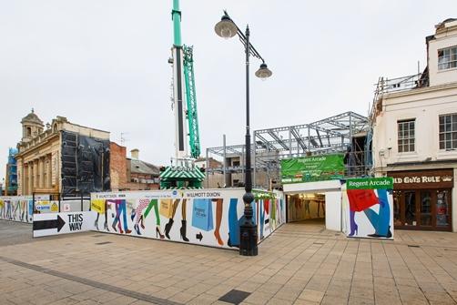 Regent Arcade Shopping Centre in Cheltenham