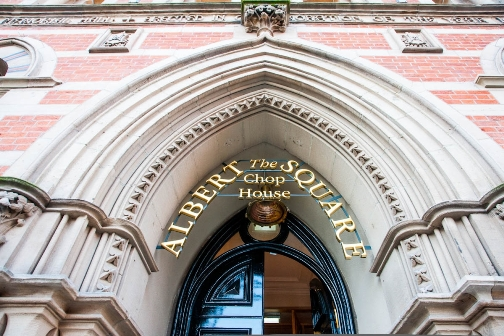 Memorial Hall - Hotel & Restaurant-  The Albert Square Chop Manchester
