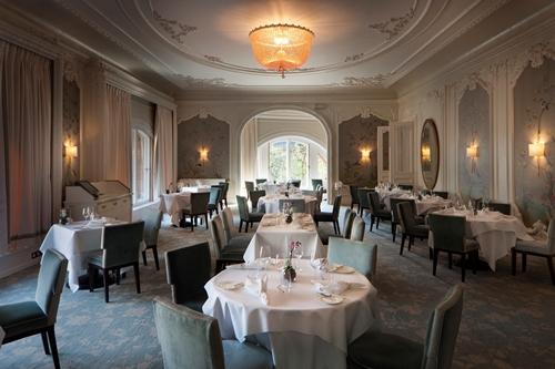 De Luxe Brasserie Galvin & The Pompadour- Waldorf Astoria Hotel- Edinburgh