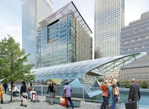 Crossrail Canary Wharf