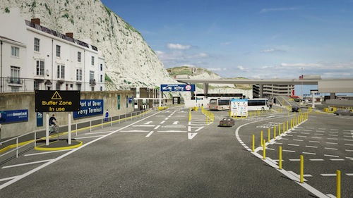 Dover Harbour Port