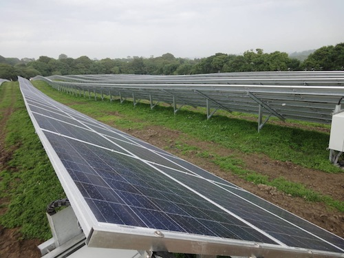 Fresh Water Solar Farm- Inazin