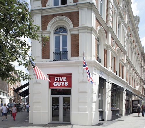 Five Guys- Covent Garden