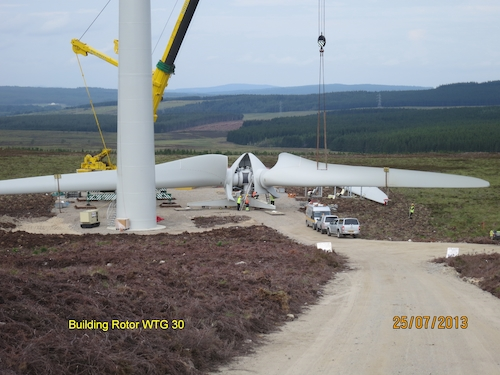 Berry Burn Wind Farm