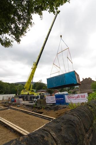 Building Boundary Close- off-site house building