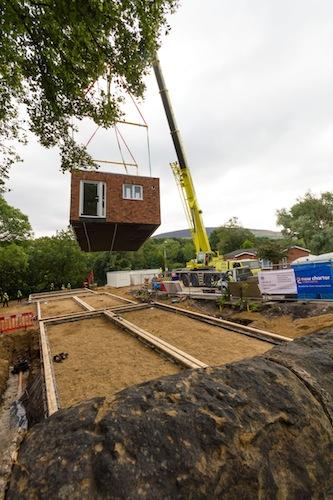 Boundary Close- off-site house building