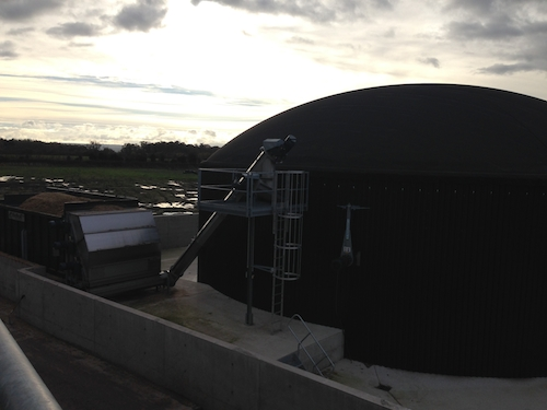 Biogas Plant, renewable energy, Shrewsbury