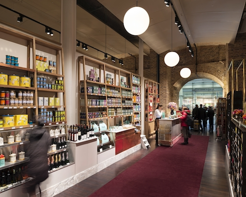 Fortnum & Mason St Pancras Station, London.