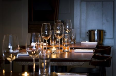 Trishna restaurant, Marleybone Village, London