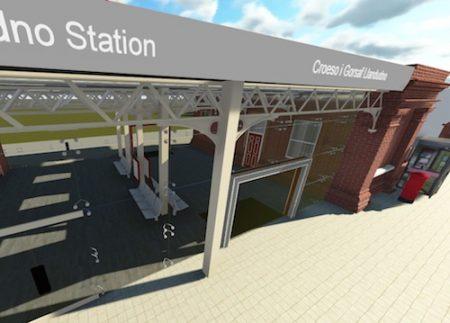 Llandudno train station, Wales