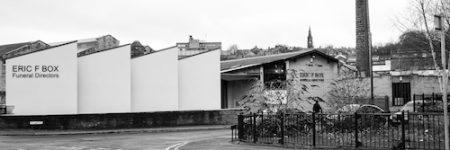 Eric F Box, funeral facility, Dewsbury