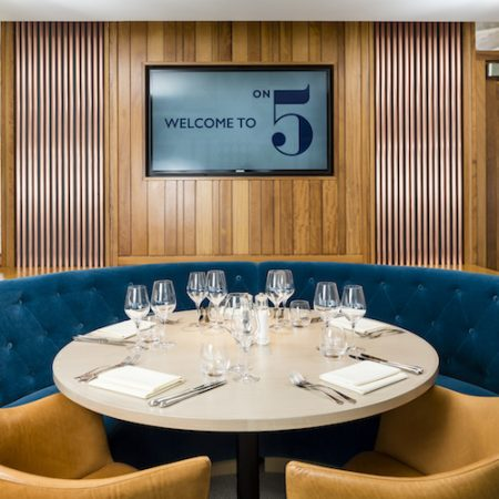Tom Kerridge On 5 restaurant, Ascot Racecourse, Berkshire