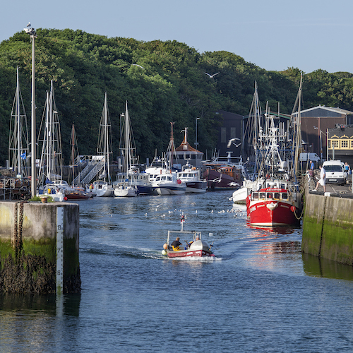 Improving Eyemouth Harbour