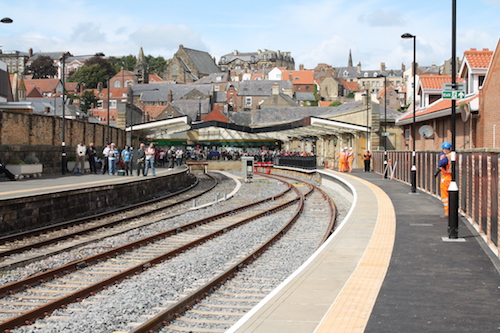 A new platform for Whitby Station