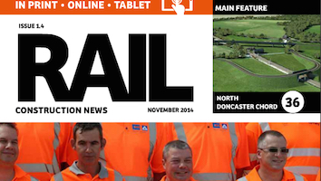 This month in Rail Construction News Issue 1.4