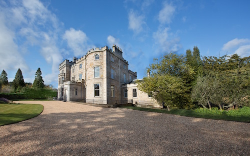 From derelict castle to dream wedding venue