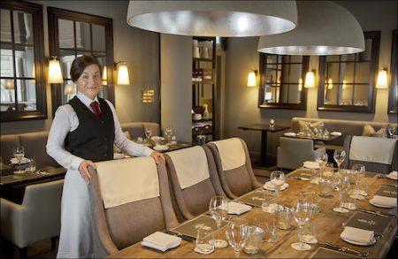 The Western Club Restaurant, Royal Exchange Square, Glasgow