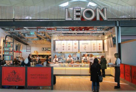Leon Restaurant Stansted Airport