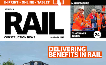 This month in Rail Construction News Issue 1.5