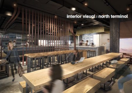 wagamama - interior visual, Gatwick