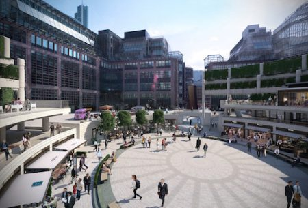 Broadgate Circle, London, Square Mile