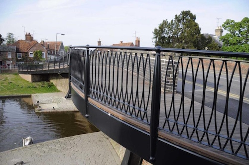 CTS Bridges specialise in footbridges
