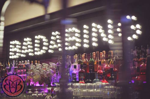Gangster glamour inspires dramatic new bar