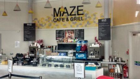 Maze Cafe Leeds Castle