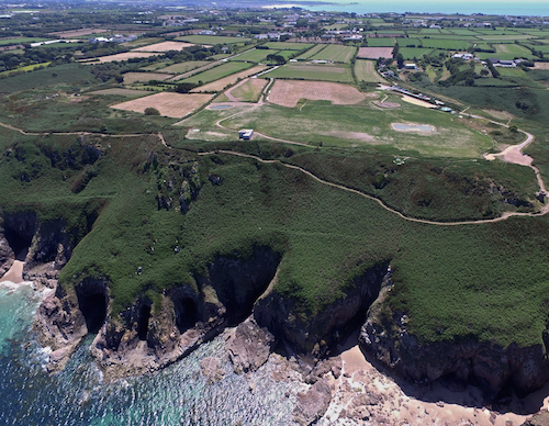 Restoring headland wildlife haven