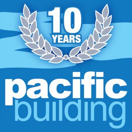 Scottish construction company Pacific Building are celebrating their birthday by giving away tranches of cash to 10 worthy causes