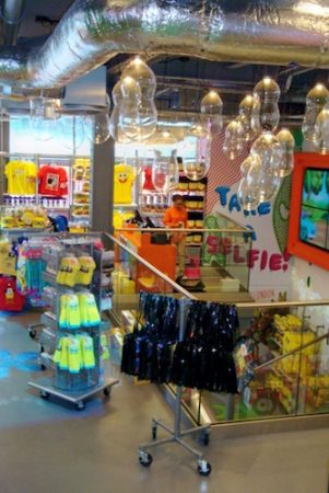 Nickelodeon Store, Leicester Square, London