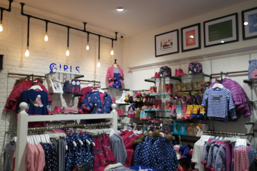 Joules at Birmingham Grand Central