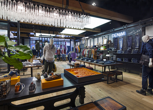 Timberland- A flagship store on Regent Street