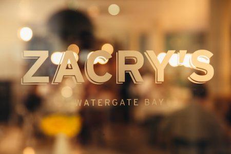 Zacry's, Watergate Bay Hotel