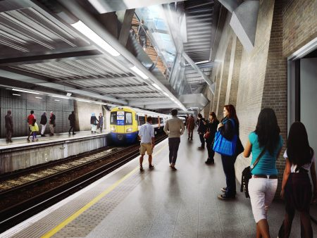 New images unveiled of Elizabeth line stations set to open in 2018