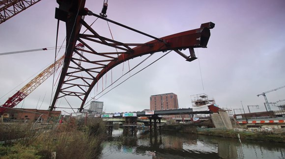 Network Rail Reaches Final Stages of Ordsall Chord Work