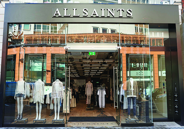 AllSaints Brompton Store