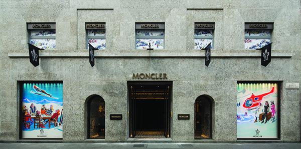 Moncler in Milan